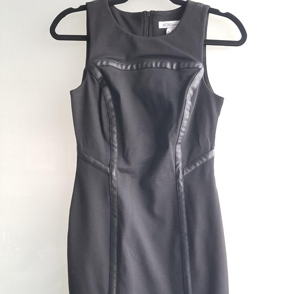BCBG generation back cut-out mini dress